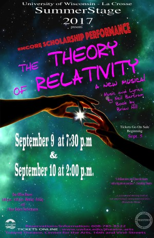 Theory of Relativity Remount Poster
