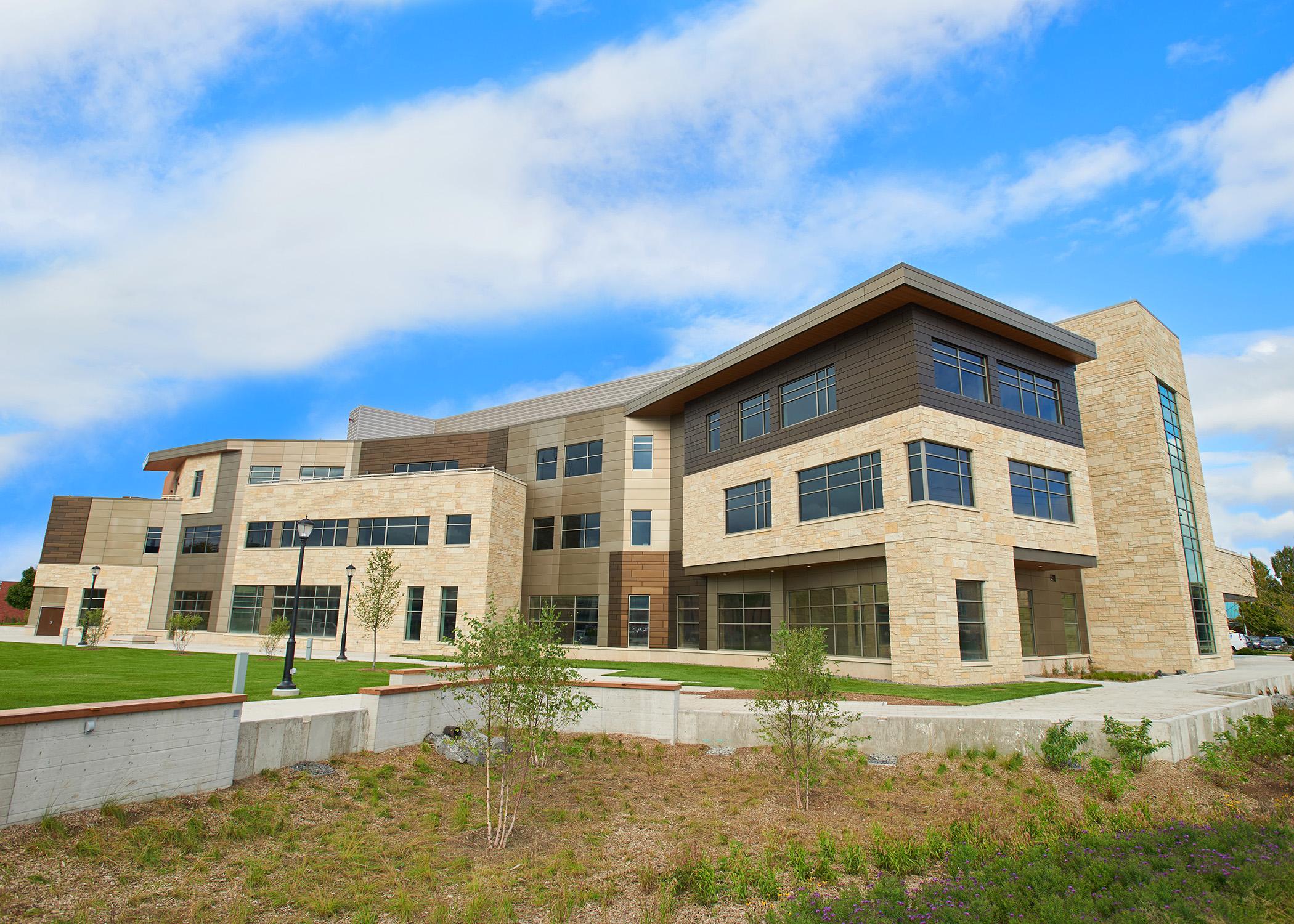 Building in the University of Wisconsin - La Crosse campus