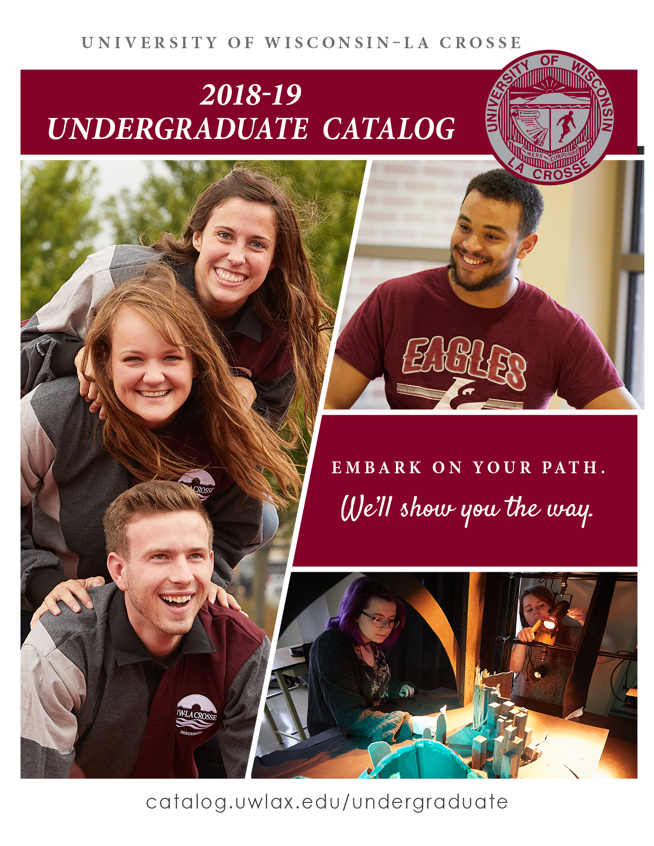 2018-19 Undergraduate Catalog Cover