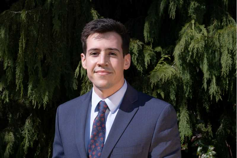 Pablo San Emeterio, '18, is in his second year of a three-year environmental law program at Lewis & Clark Law School in Portland, Oregon. He credits his earth science minor at UWL for giving him a deeper understanding of the cases he's studying.