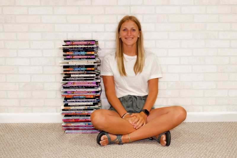 UWL education student Samantha Griesbach raised $1,200 and donated 150 culturally responsive books to six schools near her hometown of Stratford, Wisconsin. Griesbach says she was inspired to act after watching social injustices dominate the news last summer.