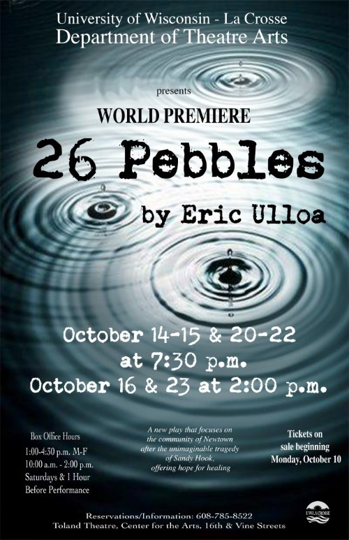 26 Pebbles Poster