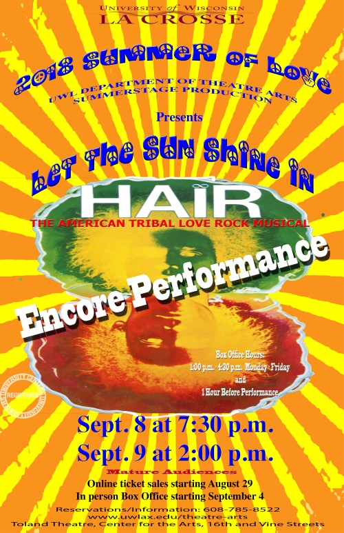 Hair Encore Performance Poster