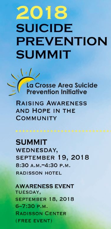 2018 Suicide Prevention Summit Brochure