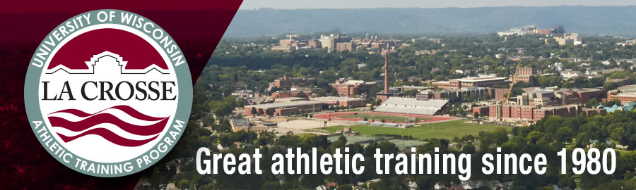 UWL Athletic Training Welcome Banner