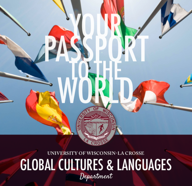 There are currently no upcoming events in the Department of Global Cultures and Languages. Check back fall semester to see what's new!