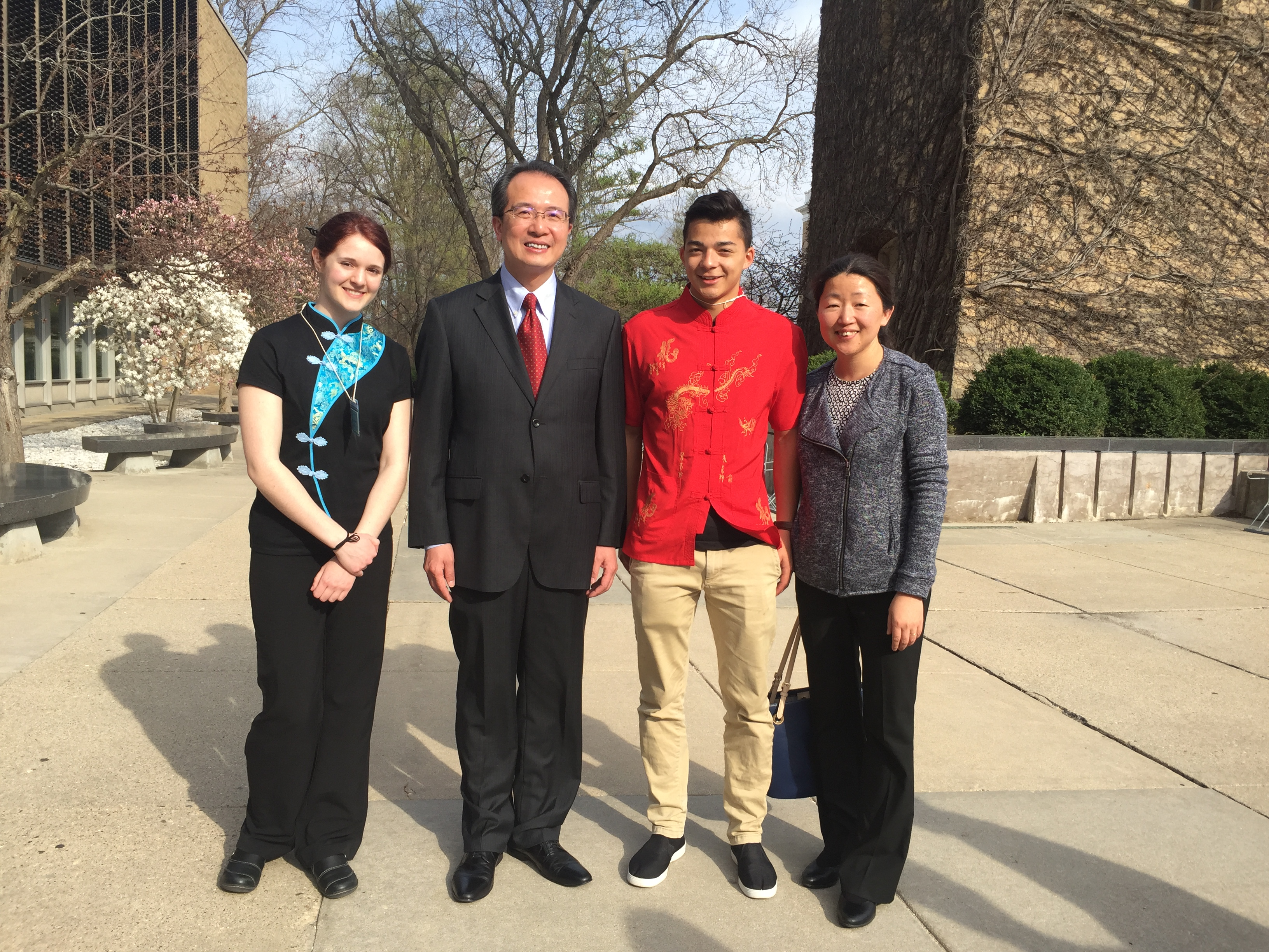 Photos from the 2017 U.S. Midwest Chinese Bridge Speech Contest on April 15 at UW-Madison