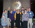 2011 Microbiology graduates and faculty