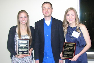 Carley Bill & Morgan Riese win CLS student of the year award