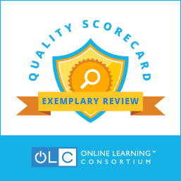 Quality Scorecard: Exemplary Review, Online Learning Consortium