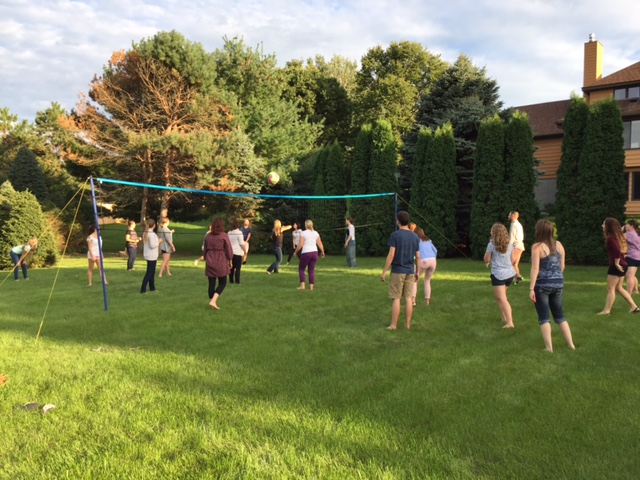2015 School Psychology Welcome Dinner Volleyball Match