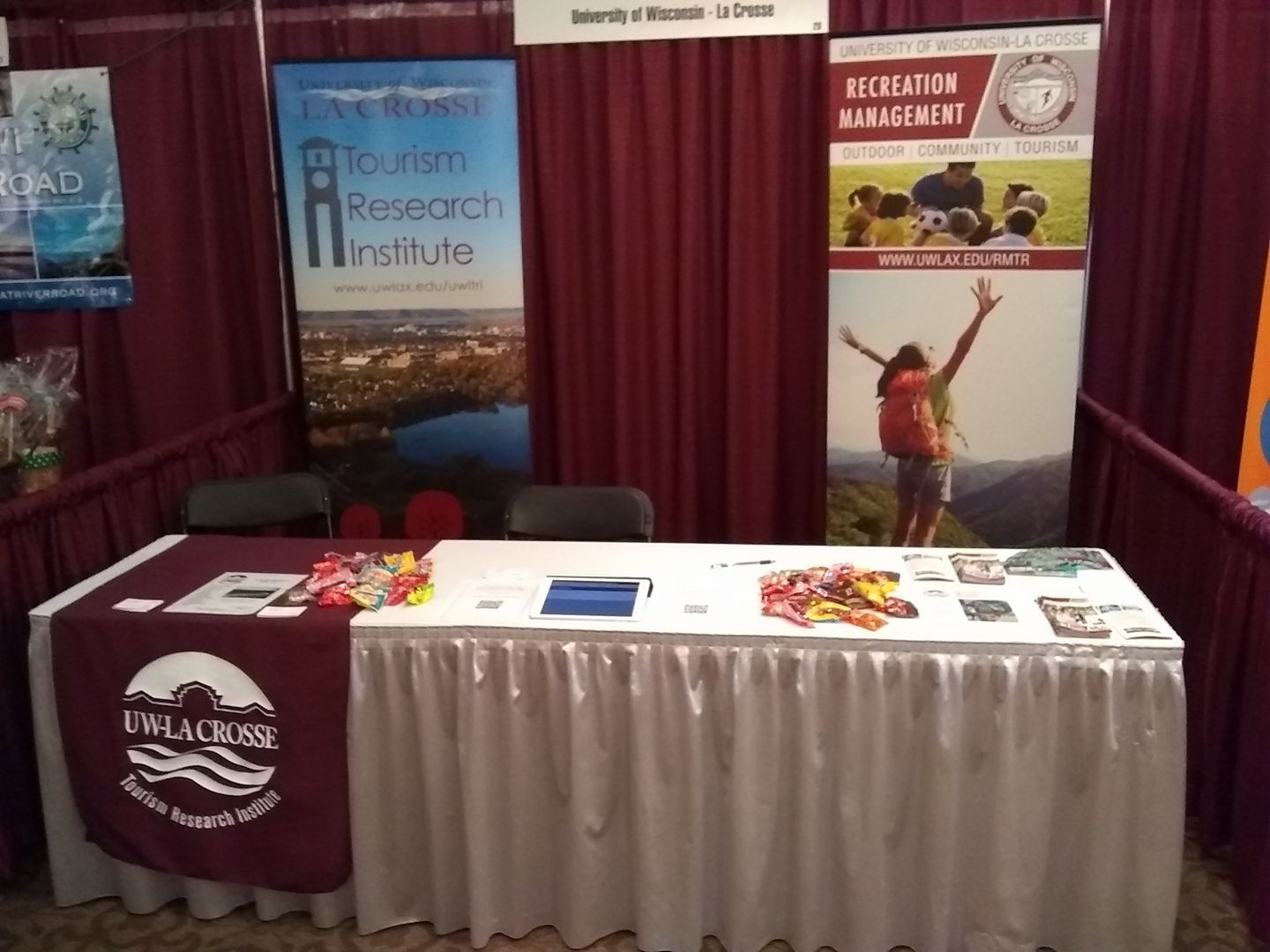 Wisconsin Governors Conference on Tourism Exhibit Booth Photo