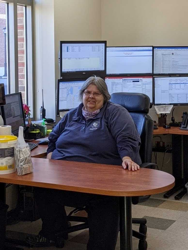 UWL Police Services Dispatcher, Jeri Baller.