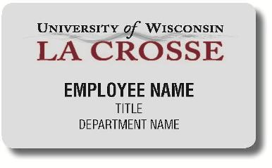 Name badge - Business Services | UW-La Crosse