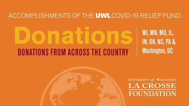 Donations from across the country