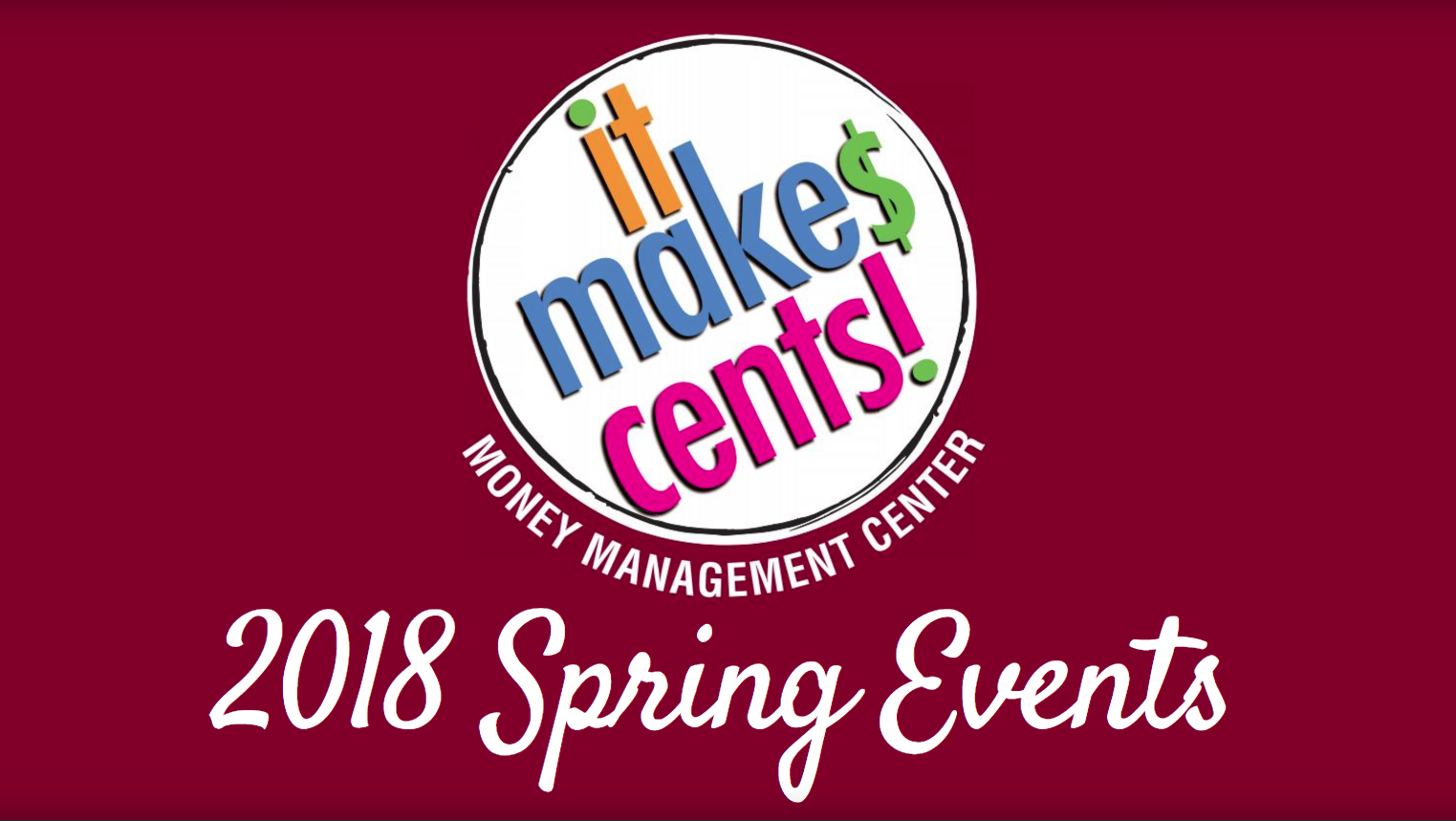 IMC! Spring Events