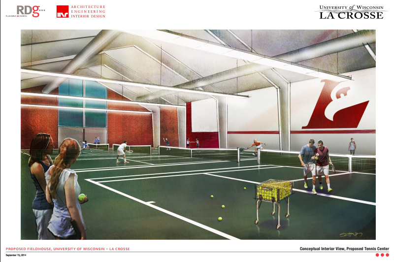 Student Fieldhouse Layout