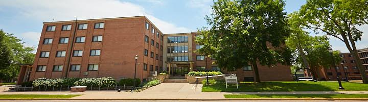 An image of Drake Hall