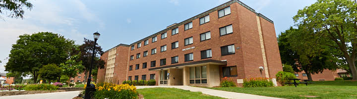 An image of Wentz Hall