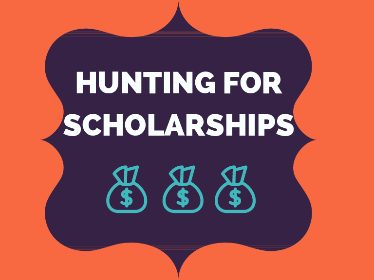 HUNTING FOR SCHOLARSHIPS