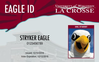 The Eagle Id Card Is Uw La Crosse S Official It University Policy That All Students And Staff Have An